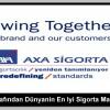 Axa Interbrand tarafından Dünyanın En İyi Sigorta Markası seçildi.