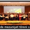 TSEV'de mezuniyet töreni coşkusu
