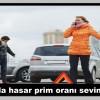 Kaskoda hasar prim oranı sevindiriyor