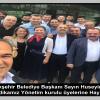 Adana Büyükşehir Belediye Başkanı Sayın Hüseyin SÖZLÜ'nün Yeni seçilen Sendikamız Yönetim Kurulu üyelerine hayırlı olsun ziyareti
