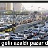 Trafikte gelir azaldı pazar daraldı