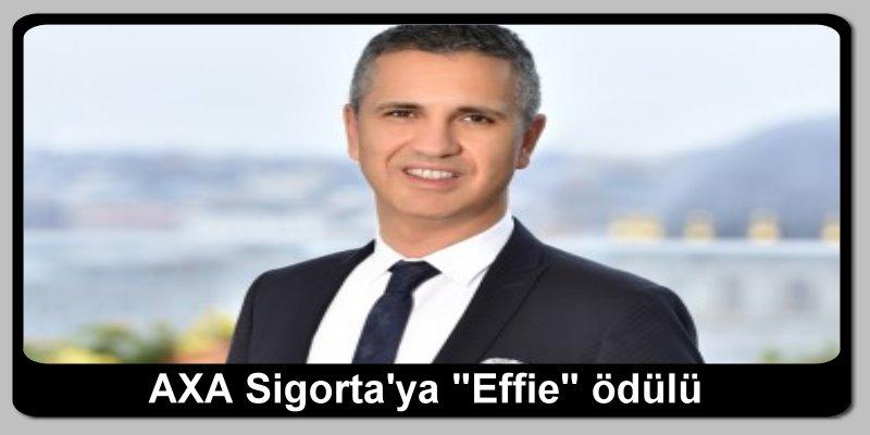 """AXA Sigorta'ya """"Effie"""" ödülü"""