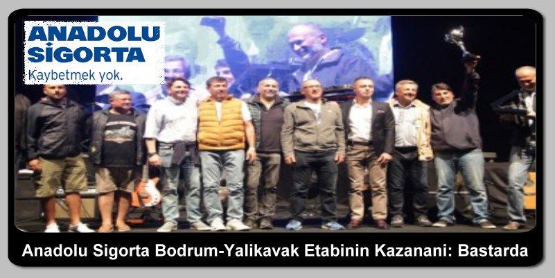Anadolu Sigorta Bodrum-Yalıkavak Etabının Kazananı: Bastarda