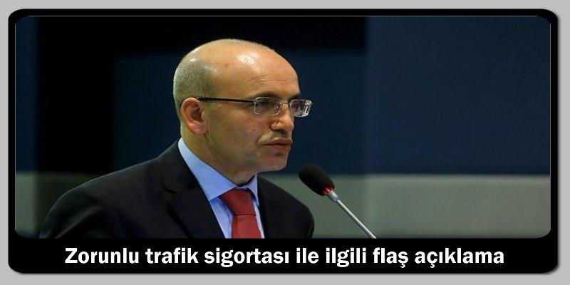Zorunlu trafik sigortası ile ilgili flaş açıklama..!